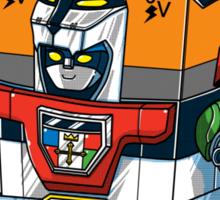 9 volt tron Sticker