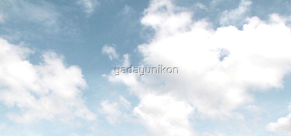 Sky Blue Sky by yadayunikon