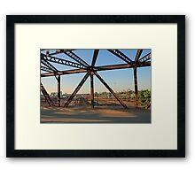 Minneapolis Railroad Yard Framed Print