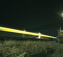 Train trails by MilesR