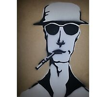 Fear and Loathing Stencil Photographic Print