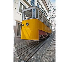 Funicular in Lisboa Photographic Print
