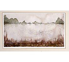 Lake 6, frozen Photographic Print