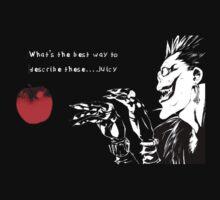 Ryuk - Death Note - Apple (Quote) by TotoroXkawaii