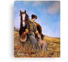 Amelia, Finally Found After 17 years! Canvas Print