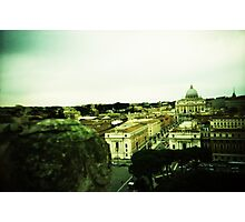 There's Nothing Past This - Lomo Photographic Print