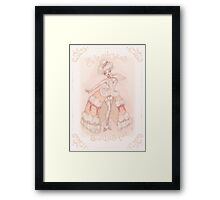 Sweetcakes Burlesque Framed Print