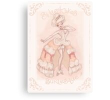 Sweetcakes Burlesque Canvas Print