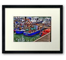fishingboat Framed Print
