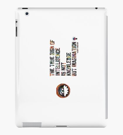 Albert Einstein. iPad Case/Skin