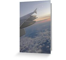 Up Up & Away Greeting Card