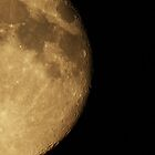 Craters on the moon by Rivendell7