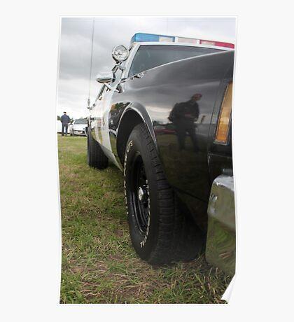 sheriffs car Poster