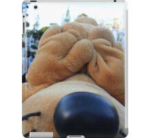 Peek-a-boo Pluto iPad Case/Skin
