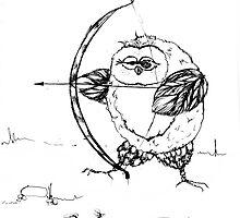 Archer owl by VicFreyd