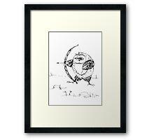 Archer owl Framed Print