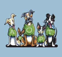 Think Adoption | Green Tee Shelter Dogs Kids Clothes