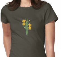FLORAL ~ Spring Colours by tasmanianartist Womens Fitted T-Shirt