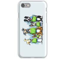 Think Adoption   Green Tee Shelter Dogs iPhone Case/Skin