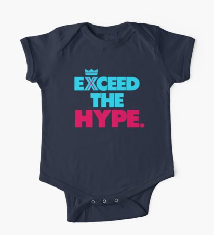 """VICTRS """"Exceed The Hype"""" One Piece - Short Sleeve"""
