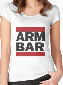 Arm Bar Women's Fitted Scoop T-Shirt