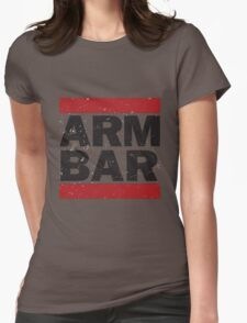 Arm Bar Womens Fitted T-Shirt