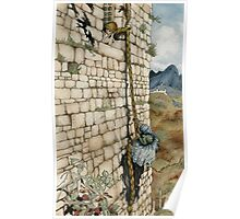 Watercolor Tribute to Arthur Rackham's Rapunzel Poster