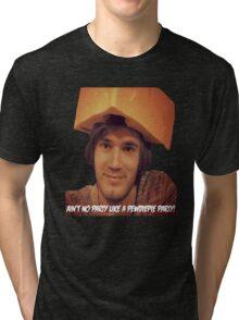 Pewdiepie Party! Tri-blend T-Shirt
