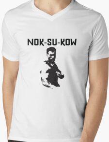White Warrior Mens V-Neck T-Shirt