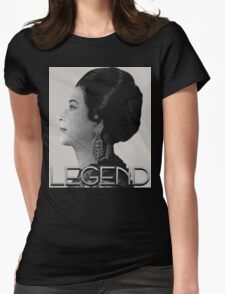 Umm Kulthum Womens Fitted T-Shirt