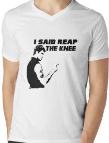 Reap the Knee Mens V-Neck T-Shirt