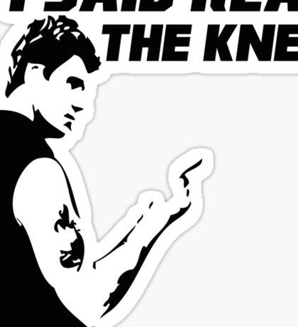 Reap the Knee Sticker