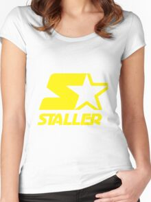 Staller Women's Fitted Scoop T-Shirt