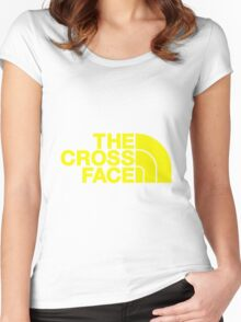 The Cross Face Women's Fitted Scoop T-Shirt