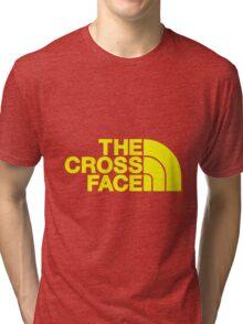 The Cross Face Tri-blend T-Shirt