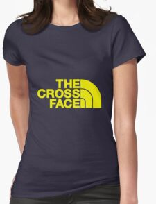 The Cross Face Womens Fitted T-Shirt