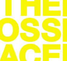 The Cross Face Sticker