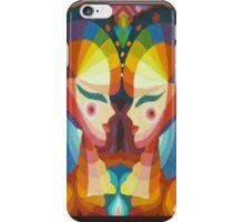 Glowing ladies iPhone Case/Skin