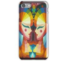 Glowing ladies iPhone Case/Skin