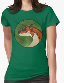 Rathalos Portrait Womens Fitted T-Shirt