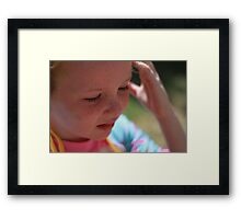 Mia Belle Framed Print