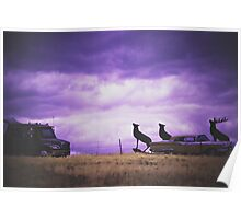 infrared scenery Poster