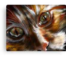 Jules featured in Cat's Pajamas Canvas Print