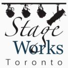 StageWorks Toronto Large Square Logo on light Shirt by marinasinger