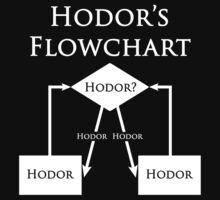 Hodor's Flowchart by ScottW93
