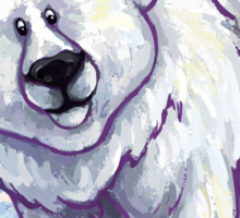 Animal Parade Polar Bear Sticker