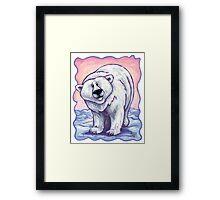Animal Parade Polar Bear Framed Print