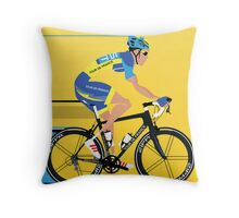 ALBERTO CONTADOR Throw Pillow
