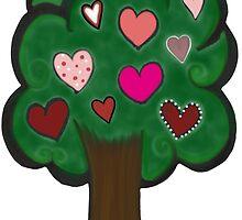 Tree of Hearts by byAngeliaJoy