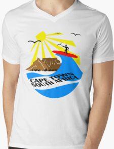 Cape Town, South Africa Mens V-Neck T-Shirt